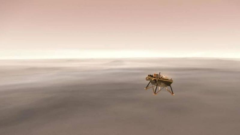 NASA's Mars Probe 'InSight' Makes Touchdown on Red Planet's Surface