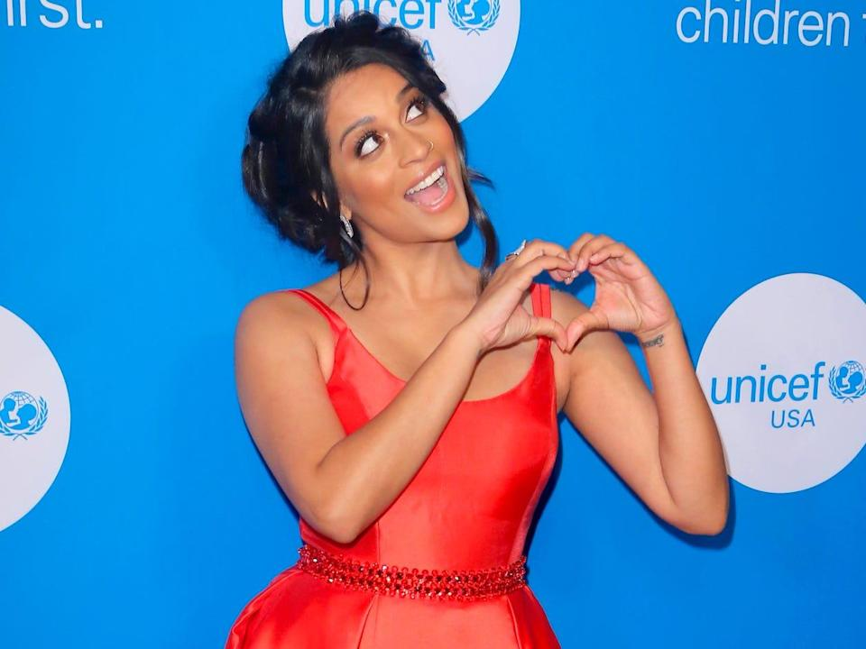 Lilly Singh 2018 Unicef event AP Images