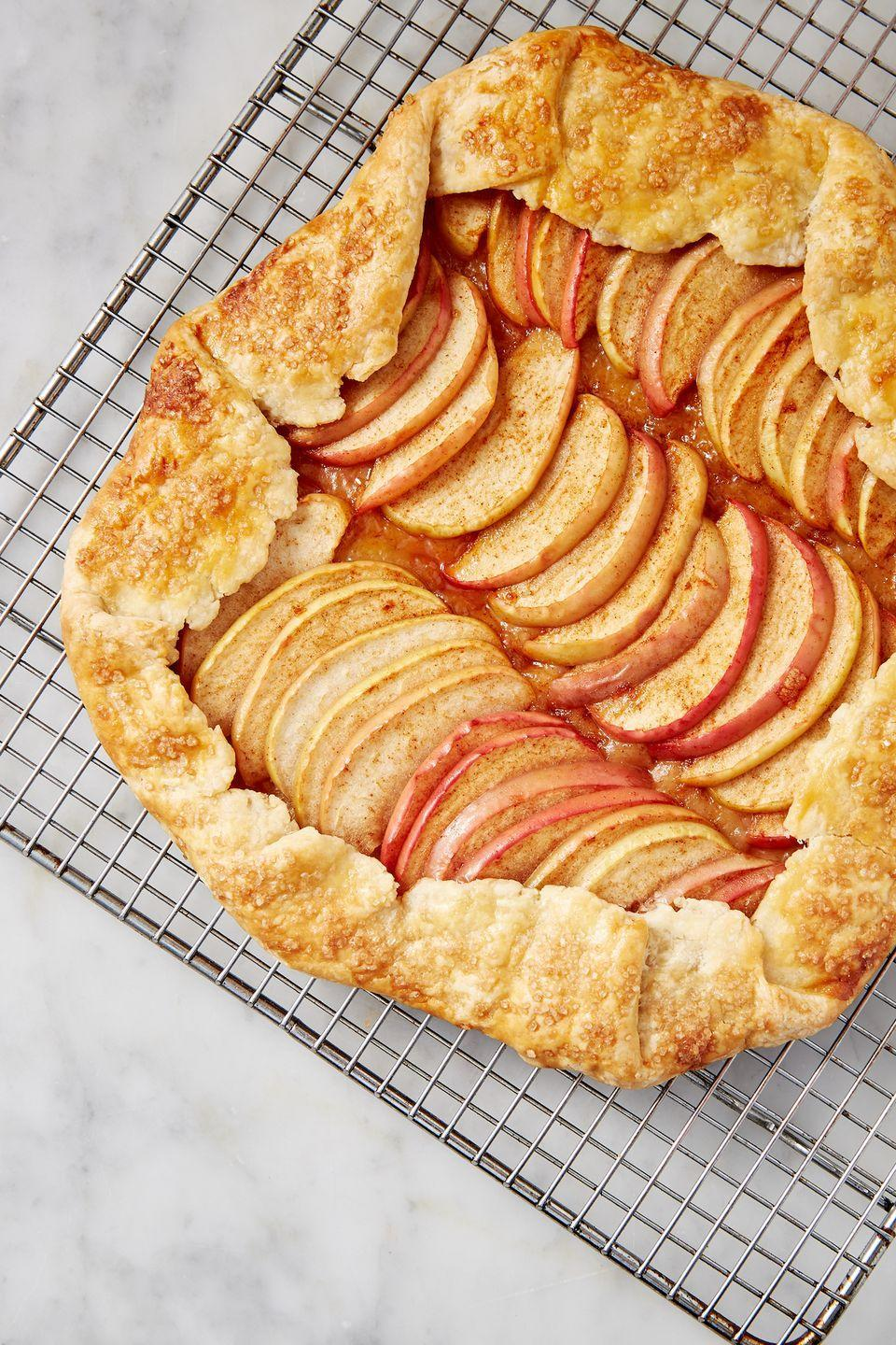 "<p>It's got all the flavor of an apple pie, <em>but</em> is so much easier to whip up. </p><p>Get the recipe from <a href=""https://www.delish.com/cooking/recipe-ideas/a28158563/easy-apple-galette-recipe/"" rel=""nofollow noopener"" target=""_blank"" data-ylk=""slk:Delish"" class=""link rapid-noclick-resp"">Delish</a>.</p>"