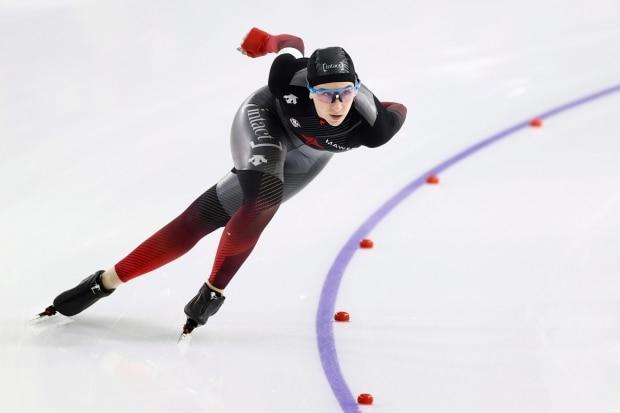 Canadian speed skater Blondin finding her balance while preparing for 2022 Olympics