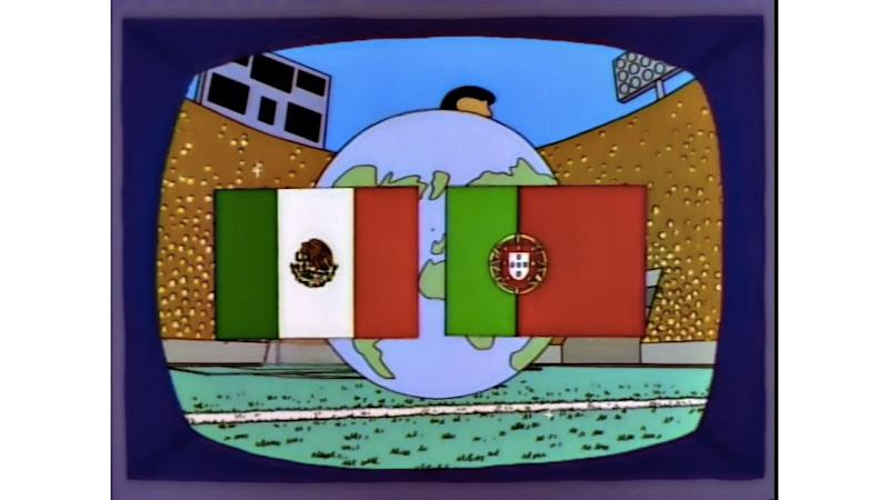 'The Simpsons' Predicted Mexico And Portugal In The World Cup Final