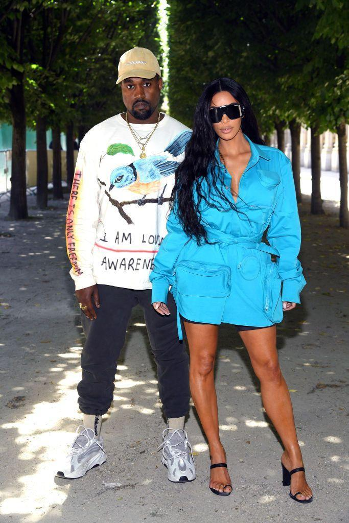 <p>The couple attended West's longtime collaborator Virgil Abloh's menswear collection runway show in Paris in June 2018.</p>