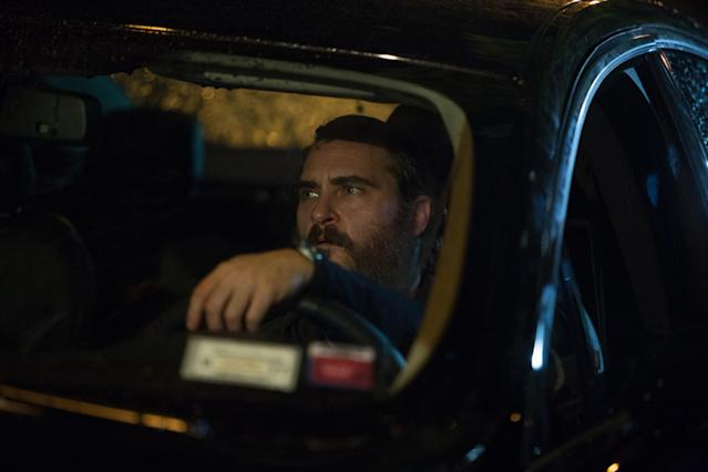 Phoenix agreed to work on  <em>You Were Never Really Here </em>without ever having met director Lynne Ramsay. (Photo: Amazon Studios)