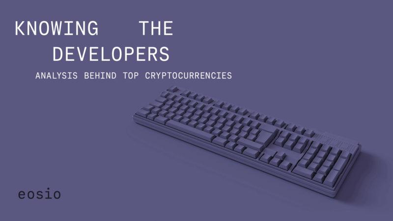 Knowing the developers: an analysis of EOSIO