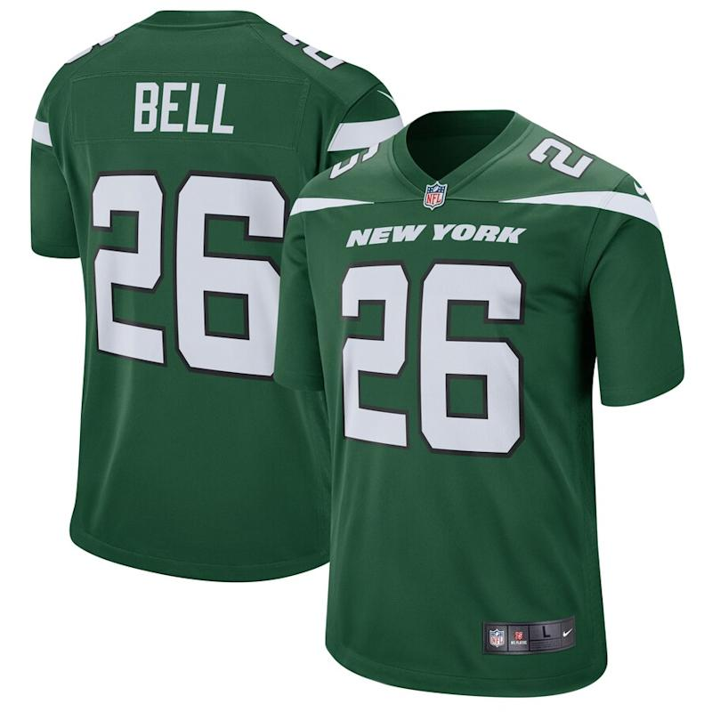 Le'Veon Bell New York Jets Nike Game Jersey – Gotham Green