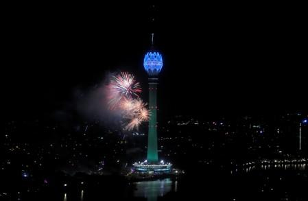 Lotus Tower launching ceremony in Colombo