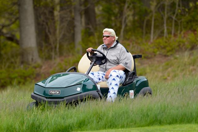 John Daly's golf cart use made the headlines at Bethpage Black. As a past Open champion, he has applied to use a cart at Portrush, too