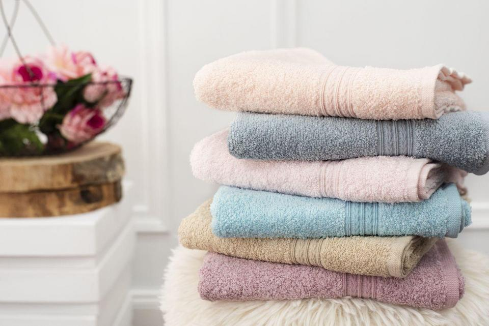 "<p>Head to the linen closet and grab yourself two small hand towels. On a wood or tiled floor, place the towels under your hands or feet to increase the challenge of traditional abs moves like <a href=""https://www.runnersworld.com/training/a20866618/5-mountain-climber-variations-for-a-full-body-workout/"" rel=""nofollow noopener"" target=""_blank"" data-ylk=""slk:mountain climbers"" class=""link rapid-noclick-resp"">mountain climbers</a>, knee tucks, and pikes.</p>"