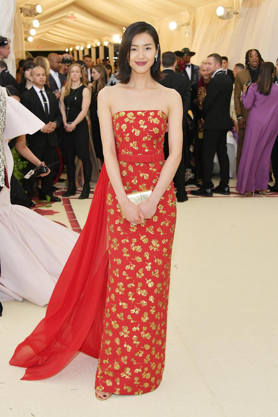 """<h1 class=""""title"""">Liu Wen in Michael Kors Collection</h1><cite class=""""credit"""">Photo: Getty Images</cite>"""