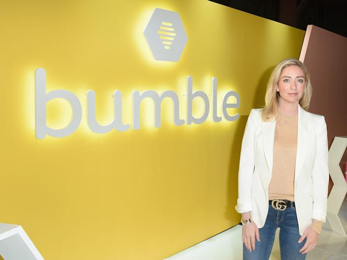 "Whitney Wolfe Herd. <p class=""copyright"">Getty/Vivien Killilea</p>"