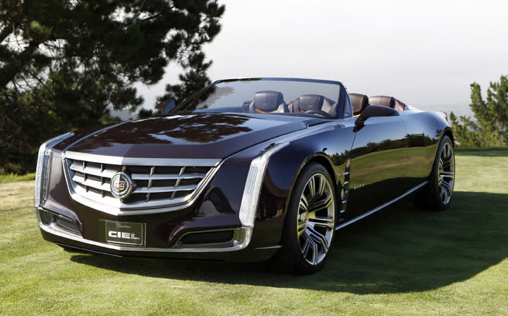 Cadillac's latest concept, the Ciel convertible, could hint at the brand's next flagship four-door.