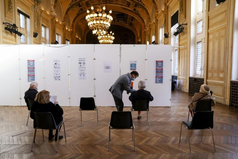 In at least one Paris district, the city hall has been adapted