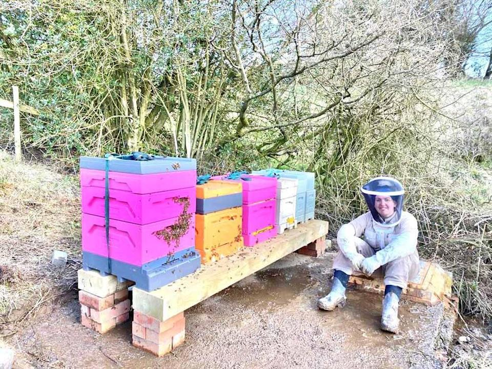 Sally quit her job as a honey farmer in 2019 (Collect / PA Real Life).