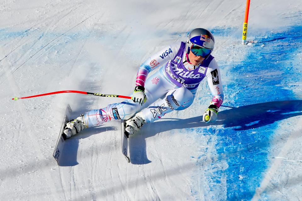 <p>Vonn has her own clothing line with UnderArmour, the Lindsey Vonn Signature Collection in which each piece is named after a specific milestone or accomplishment in her career. </p>