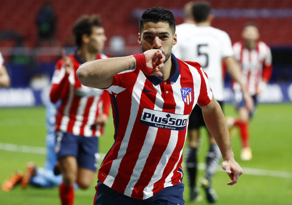 Luis Suarez has been in fine form after his transfer from Barcelona to Atletico Madrid.