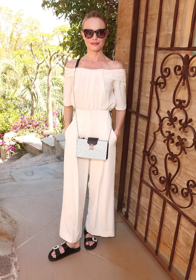 <p>Kate Bosworth attends The Zoe Report's ZOEasis</p>