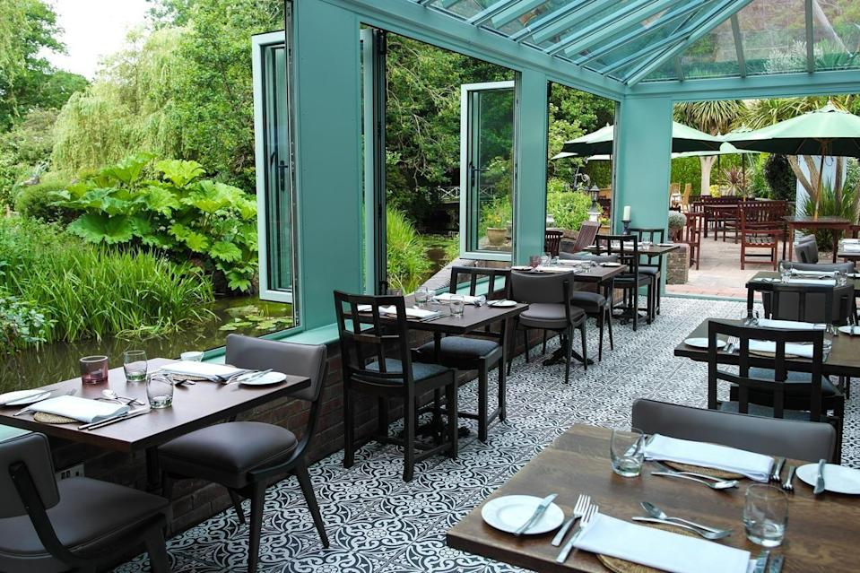 """<p>There aren't many places that have a restaurant sitting right over the riverside but this quirky hotel offers just that. <a href=""""https://go.redirectingat.com?id=127X1599956&url=https%3A%2F%2Fwww.booking.com%2Fhotel%2Fgb%2Fthe-mill-lymington.en-gb.html%3Faid%3D1922306%26label%3Dunusual-hotels-uk&sref=https%3A%2F%2Fwww.goodhousekeeping.com%2Fuk%2Flifestyle%2Ftravel%2Fg34667984%2Fquirky-unusual-hotels-uk%2F"""" rel=""""nofollow noopener"""" target=""""_blank"""" data-ylk=""""slk:The Old Mill"""" class=""""link rapid-noclick-resp"""">The Old Mill</a> in the New Forest has Instagram-worthy opportunities everywhere, and there's even a full-sized adult swing in the garden for enjoying the views. </p><p>There are country walks aplenty, browsing of the independent shops in nearby picturesque Lymington and great gastropub food with the dulcet tones of the river flowing past.</p><p><a href=""""https://www.goodhousekeepingholidays.com/offers/hampshire-lymington-the-mill-hotel"""" rel=""""nofollow noopener"""" target=""""_blank"""" data-ylk=""""slk:Read our review of The Old Mill."""" class=""""link rapid-noclick-resp"""">Read our review of The Old Mill.</a></p><p><a class=""""link rapid-noclick-resp"""" href=""""https://go.redirectingat.com?id=127X1599956&url=https%3A%2F%2Fwww.booking.com%2Fhotel%2Fgb%2Fthe-mill-lymington.en-gb.html%3Faid%3D1922306%26label%3Dunusual-hotels-uk&sref=https%3A%2F%2Fwww.goodhousekeeping.com%2Fuk%2Flifestyle%2Ftravel%2Fg34667984%2Fquirky-unusual-hotels-uk%2F"""" rel=""""nofollow noopener"""" target=""""_blank"""" data-ylk=""""slk:CHECK AVAILABILITY"""">CHECK AVAILABILITY</a></p>"""