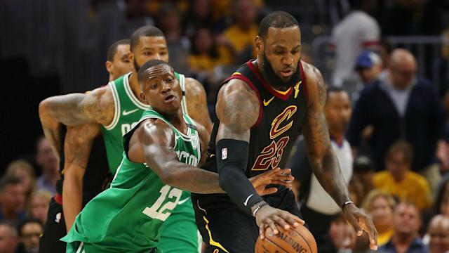 The Celtics were brought crashing back down to earth by the Cavaliers, but Terry Rozier is using that as a positive.