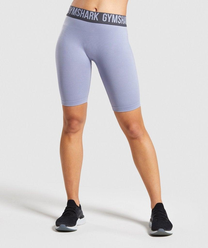 """<h2>Gymshark Fit Cycling Shorts</h2> <br>A training short made up of four-way stretch material is just what you need for your next workout. The elasticated waistband helps keep them in place, giving you one less thing to worry about as you move.<br><br><strong>Gymshark</strong> Fit Cycling Shorts, $, available at <a href=""""https://go.skimresources.com/?id=30283X879131&url=https%3A%2F%2Fwww.gymshark.com%2Fproducts%2Fgymshark-fit-cycling-shorts-blue-charcoal"""" rel=""""nofollow noopener"""" target=""""_blank"""" data-ylk=""""slk:Gymshark"""" class=""""link rapid-noclick-resp"""">Gymshark</a><br>"""