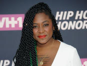 FILE - In this July 11, 2016, file photo, Alicia Garza attends the arrivals at VH1's Hip Hop Honors at David Geffen Hall at Lincoln Center in New York. Several years since its founding, BLM has evolved well beyond the initial aspirations of its early supporters. Garza was one of the three women who founded BLM. (Photo by Brad Barket/Invision/AP, File)