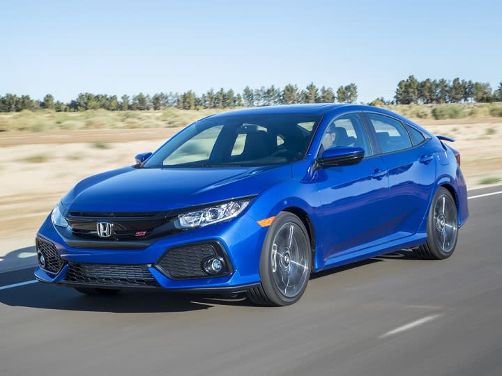 2017 Honda Civic Si Sedan Front Quarter Left Photo