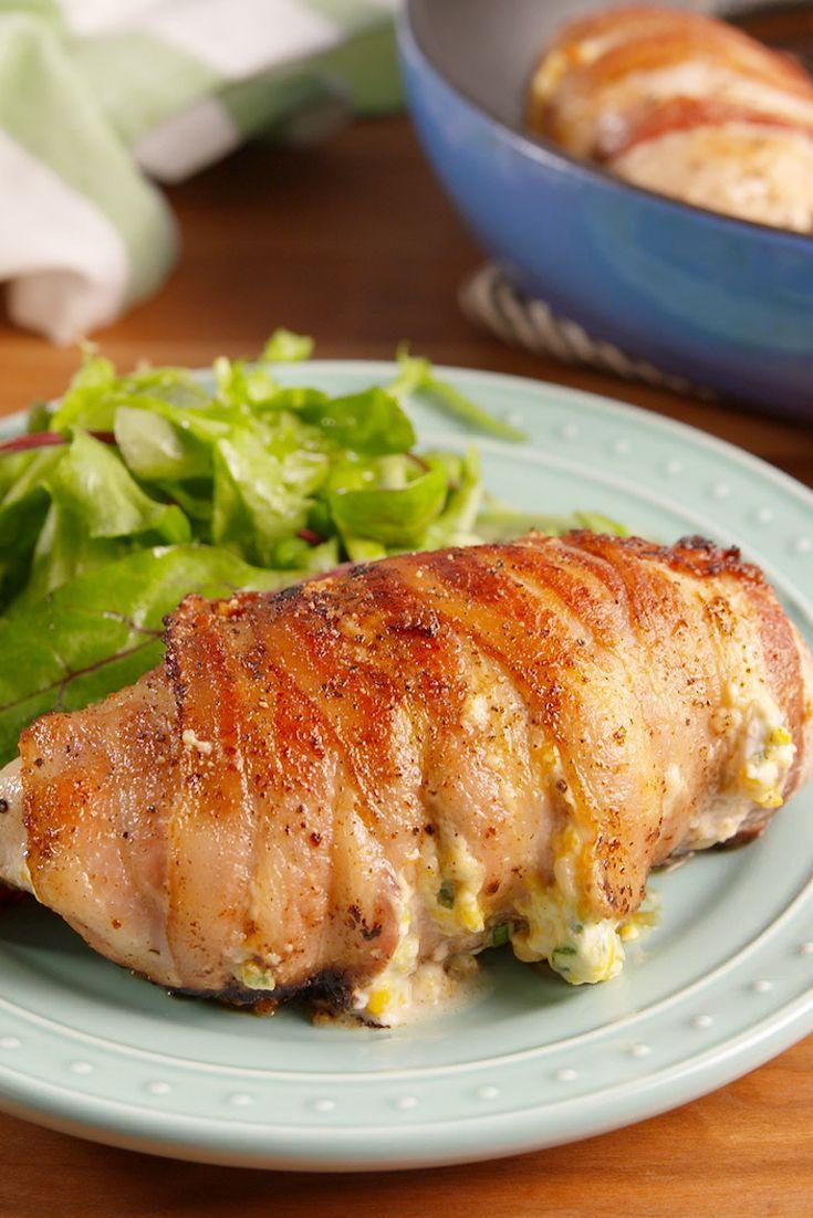 """<p>This chicken is POPPIN' OFF!</p><p>Get the recipe from <a href=""""https://delish.com/cooking/recipe-ideas/recipes/a52157/jalapeno-popper-chicken-recipe/"""" rel=""""nofollow noopener"""" target=""""_blank"""" data-ylk=""""slk:Delish"""" class=""""link rapid-noclick-resp"""">Delish</a>.</p>"""