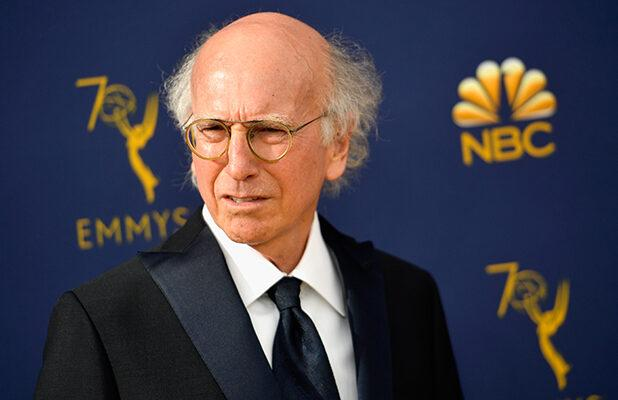 Larry David Tells 'Idiots' Still Going Out to 'Go Home, Watch TV' in PSA (Video)