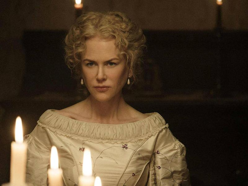 In Sofia Coppola's version of 'The Beguiled', a film adaptation of Thomas Cullinan's book, starring Nicole Kidman, the black female slave was dropped