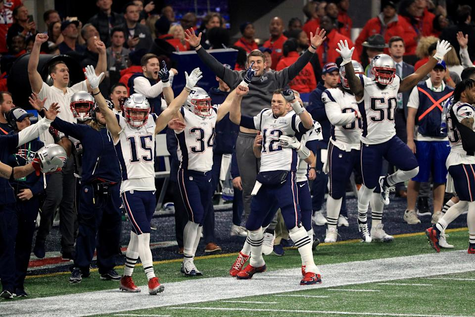 Sunday's Super Bowl was a slog of a football game. Nevertheless, the Patriots are taking home Lombardi Trophy No. 6. (Getty Images)