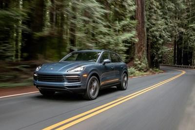 May retail sales were driven by the redesigned Cayenne, which posted a remarkable increase of 213.4 percent compared to May 2018. Photo: Porsche Cars North America, Inc.