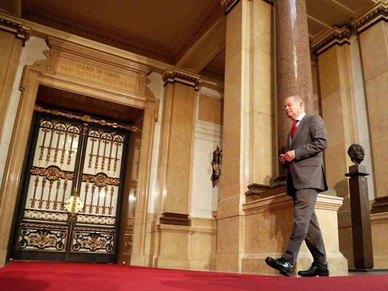 Olaf Scholz GettyImages 810663442