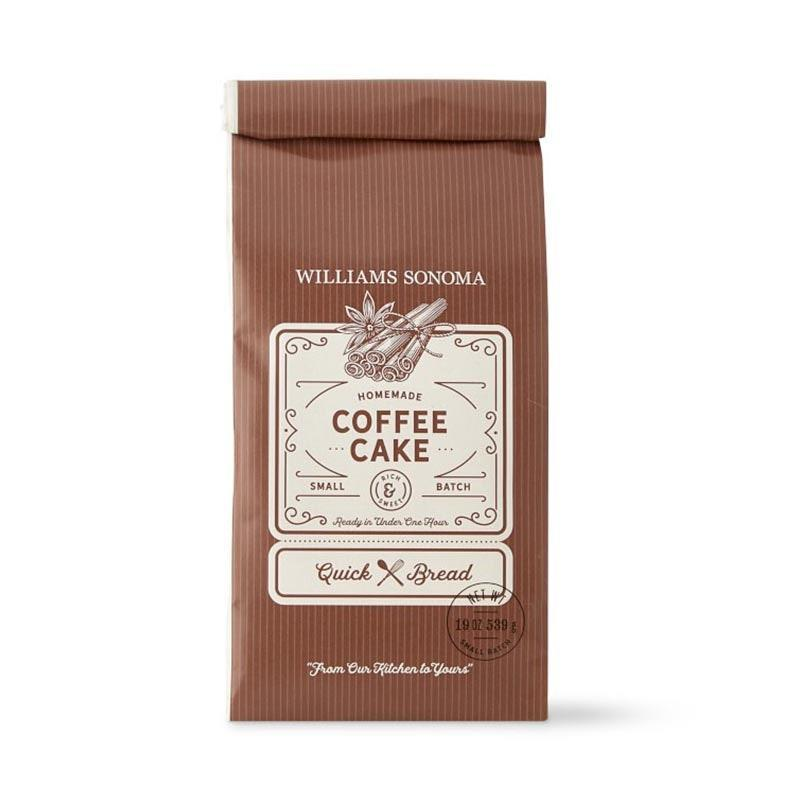 "Because coffee is a wonderful reason to enjoy some cake. $15, Williams-Sonoma. <a href=""https://www.williams-sonoma.com/products/williams-sonoma-cinnamon-streusel-quick-bread-mix/"" rel=""nofollow noopener"" target=""_blank"" data-ylk=""slk:Get it now!"" class=""link rapid-noclick-resp"">Get it now!</a>"