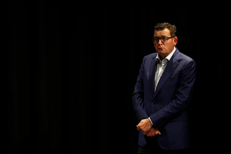 MELBOURNE, AUSTRALIA - JUNE 23: Victorian Premier Daniel Andrews speaks to the media on June 23, 2020 in Melbourne, Australia.  (Photo by Darrian Traynor/Getty Images) (Photo: Getty Images)
