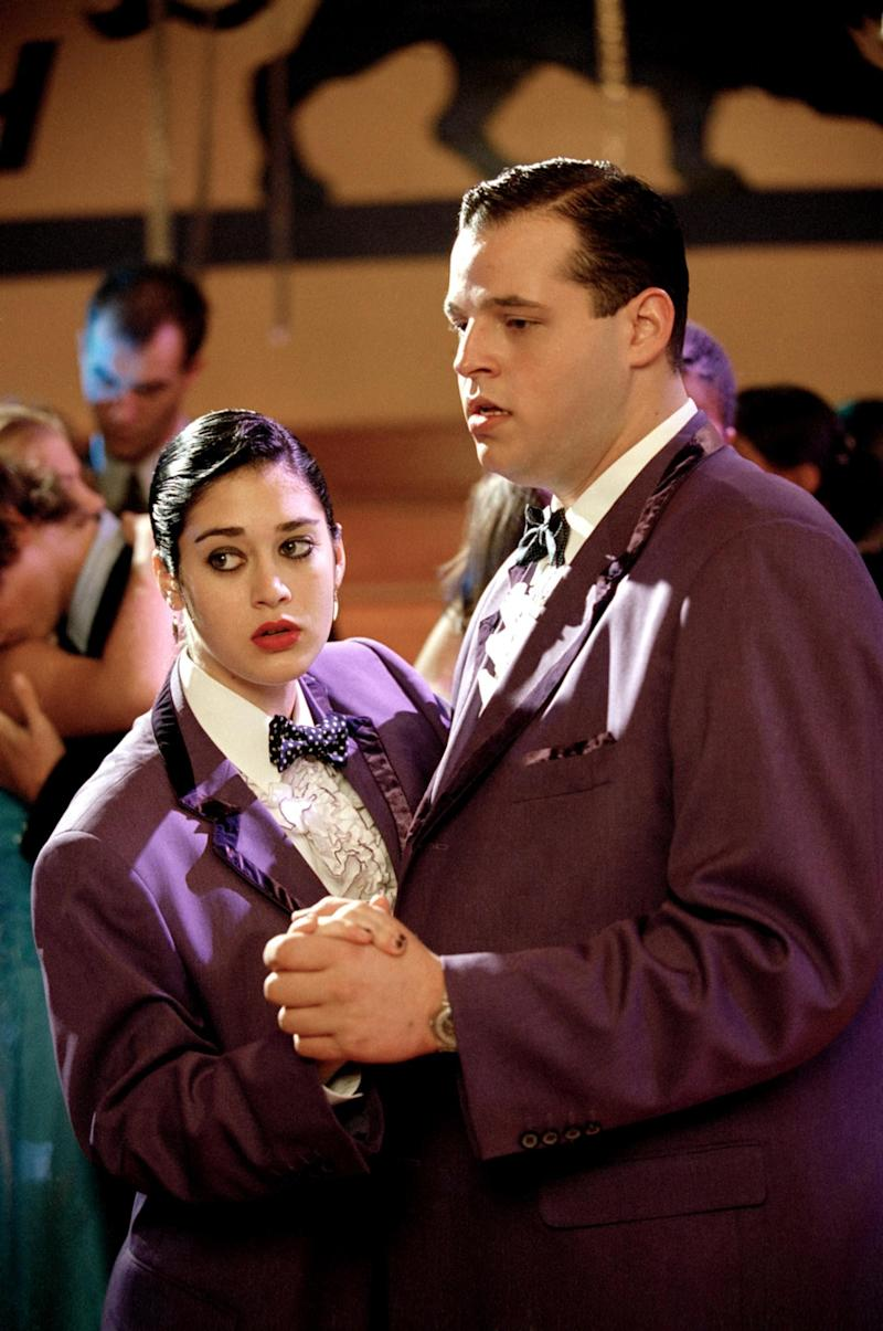 Lizzy Caplan and Daniel Franzese in 'Mean Girls.' (Paramount/courtesy Everett Collection)