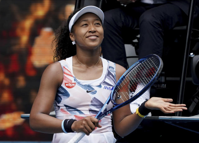 Naomi Osaka did just fine in Day 1 of the Australian Open. (AP Photo/Lee Jin-man)