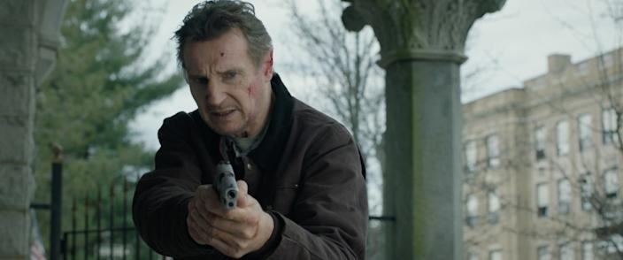 "In ""Honest Thief,"" Liam Neeson is a bank robber who's taken with a local woman."