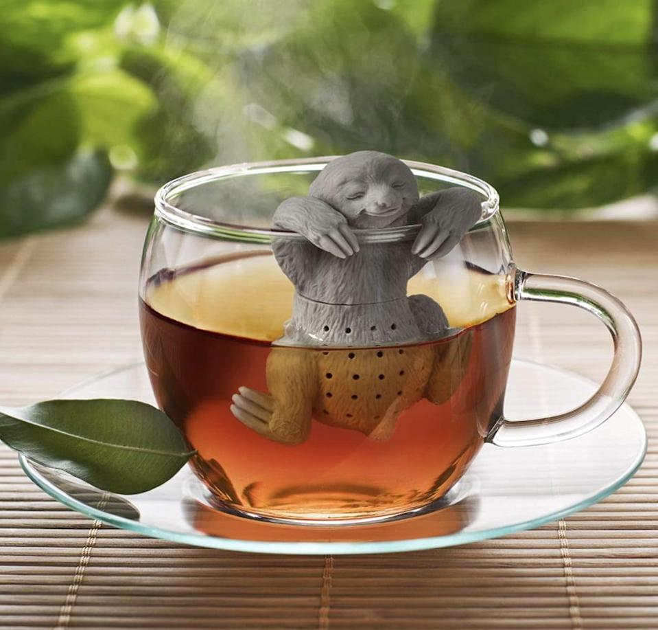 <p>Tea-lovers will adore this <span>Fred Slow Brew Sloth Tea Infuser</span> ($10).</p>