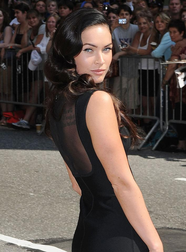 "Megan Fox became an overnight star when ""Transformers"" hit the big screen. While she didn't win any awards for her acting, no one could forget her fabulous face. Eddie Mejia-Ron Asadorian/<a href=""http://www.splashnewsonline.com/"" target=""new"">Splash News</a> - June 25, 2009"