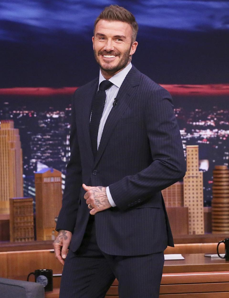 <p>You don't become one of the most well-known names in sports without working hard. The soccer star and husband to Victoria Beckham celebrates his birthday on May 2. </p>