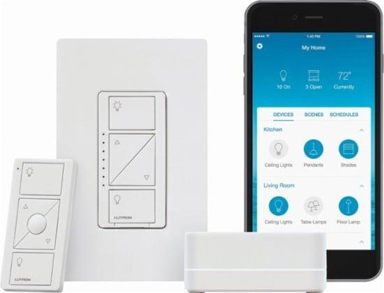 <p>Customize even the oldest light fixtures in your home with the <span>Lutron Caseta Wireless Smart Bridge</span> ($75, originally $93), which lets you add a dimmer switch onto any light you own.</p>