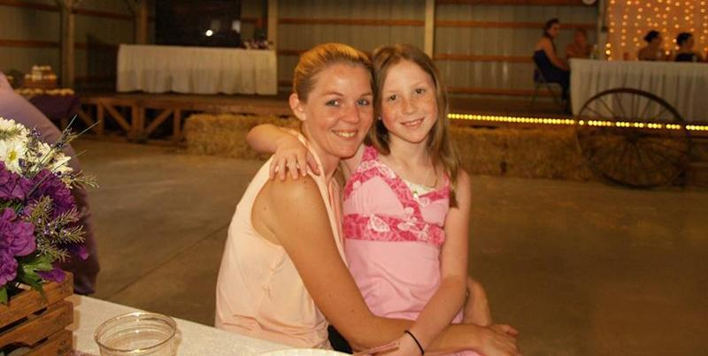 Abigail with her mother Anna Williams, who has received numerous condolensce messages on her Facebook account since the bodies were discovered. Photo: Facebook