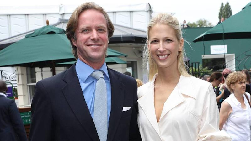 Thomas Kingston und Lady Gabriella Windsor harmonieren in Wimbledon (Bild: imago images / i Images / Stephen Lock)