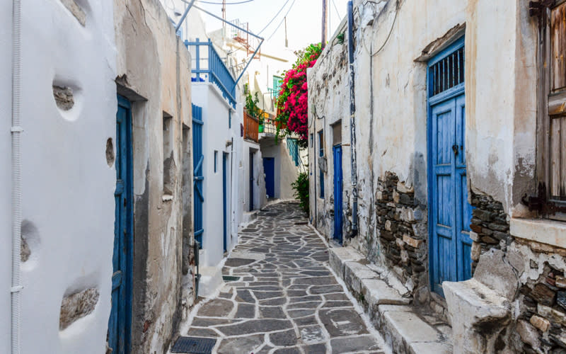 <p>Whether it's the Insta-approved party scene in Mykonos or the 'Mamma Mia'-esque streets of Santorini, Greece is a failsafe hit when it comes to choosing a holiday regardless of what the calendar is saying. <em>[Photo: Getty]</em> </p>