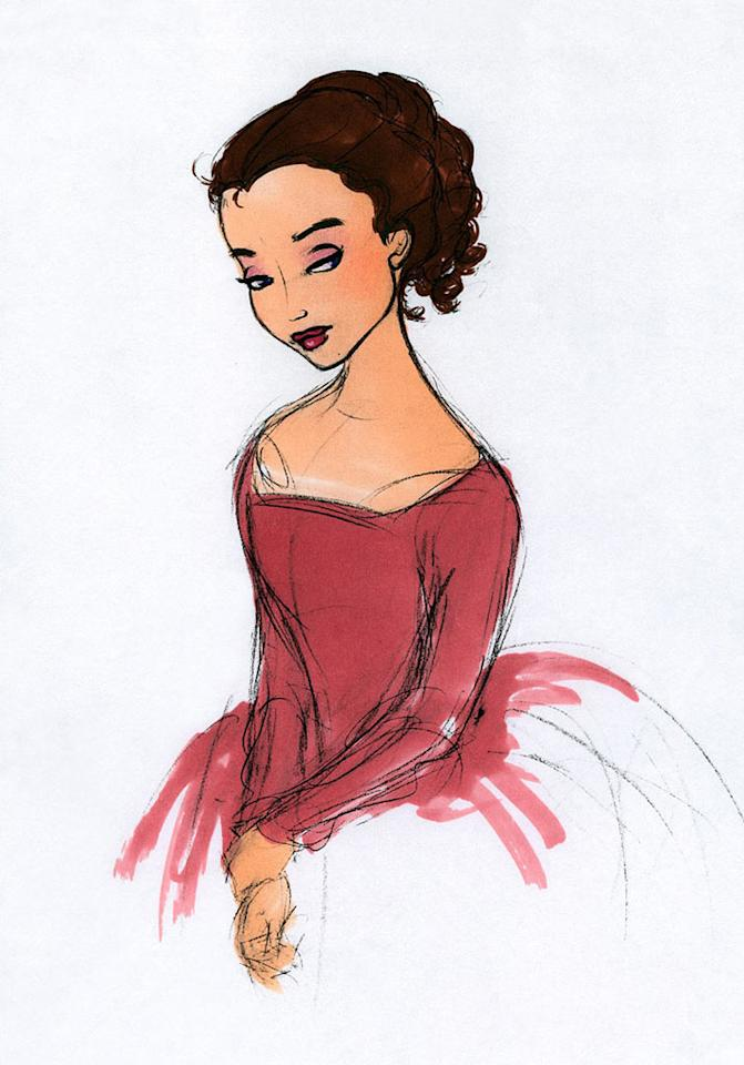 """Concept art from Walt Disney's <a href=""""http://movies.yahoo.com/movie/1800341693/info"""">Beauty and the Beast</a> - 1991"""