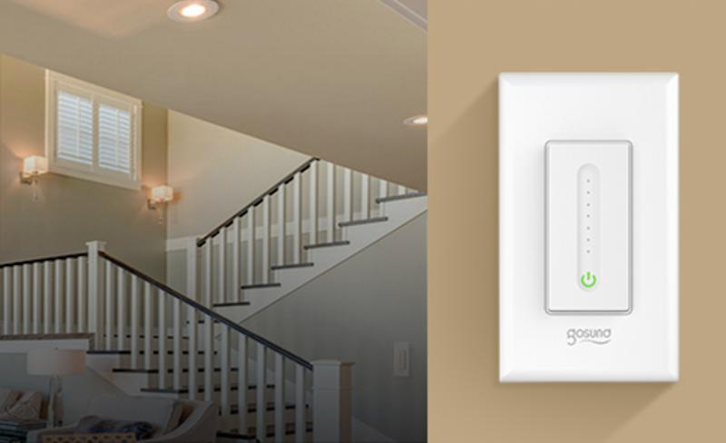 Save 25 percent on a four-pack of smart light switches for your home, today only. (Photo: Amazon)