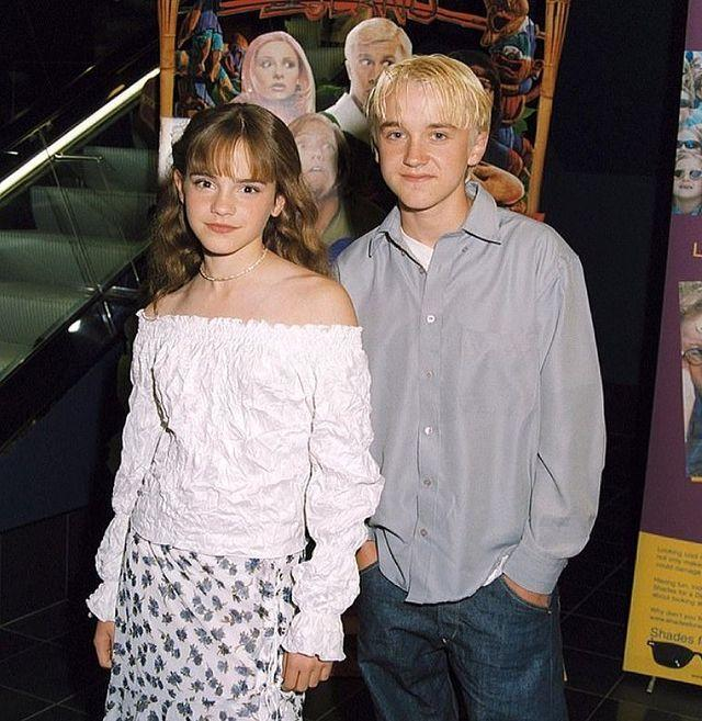 """<p>While it might not be a reunion as such, it was a sort of virtual one in this socially-distanced world with<a href=""""https://www.elle.com//uk/life-and-culture/a29853935/rupert-grint-harry-potter-emma-watson-tom-felton-spark/"""" rel=""""nofollow noopener"""" target=""""_blank"""" data-ylk=""""slk:Tom Felton"""" class=""""link rapid-noclick-resp""""> Tom Felton</a> sharing an epic throwback to wish his friend <a href=""""https://www.elle.com/uk/life-and-culture/a31986633/emma-watson-self-partnered/"""" rel=""""nofollow noopener"""" target=""""_blank"""" data-ylk=""""slk:Emma Watson"""" class=""""link rapid-noclick-resp"""">Emma Watson</a> a happy 31st birthday.</p><p>Sharing a picture of the two as teenagers (which we would estimate to have been taken around the second film The Chamber of Secrets, perhaps) on April 15, Felton wrote: 'Happy birthday to the one & only.'</p><p><a href=""""https://www.instagram.com/p/CNsYM4mDmMM/"""" rel=""""nofollow noopener"""" target=""""_blank"""" data-ylk=""""slk:See the original post on Instagram"""" class=""""link rapid-noclick-resp"""">See the original post on Instagram</a></p>"""