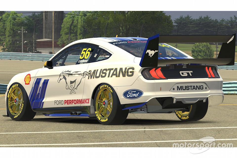 """Joey Logano, Ford Mustang<span class=""""copyright"""">Ford Performance</span>"""