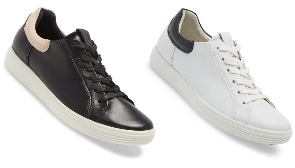 The Ecco Soft 7 Street Sneaker is a podiatrist-recommended shoe that's also the epitome of style. (Photo: Nordstrom)