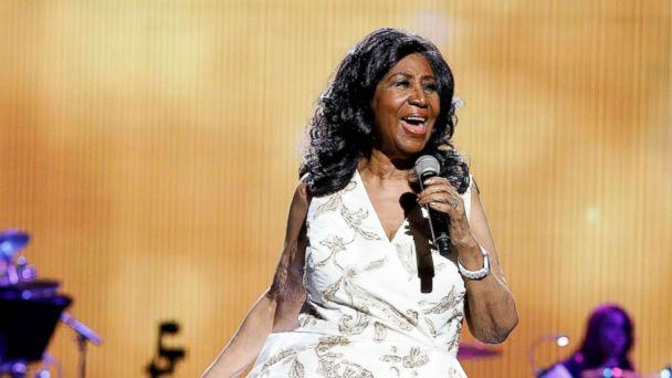 PHOTO: Aretha Franklin performs during the 2017 Tribeca Film Festival Opening Gala premiere of 'Clive Davis: The Soundtrack of our Lives' at Radio City Music Hall, April 19, 2017 in New York City. (Taylor Hill/Getty Images)