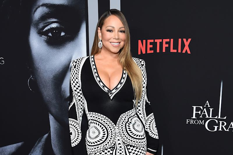 Mariah Carey says she's reading chapters about being biracial from her book to her 9-year-old twins